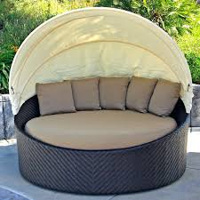 Outdoor Canopy Daybed Extraordinary Black Rattan Daybed With Canopy Daybed Iiec2017