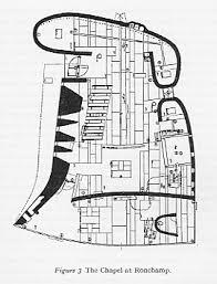 Chapel Floor Plans And Elevations Notre Dam Du Haut Ronchamp Floor Plan By Le Corbusier