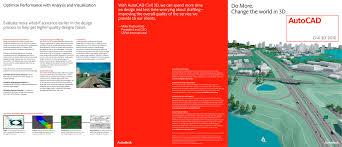 autocad civil 3d autodesk pdf catalogue technical