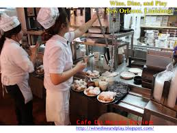 top cuisine du monde wine dine and play café du monde