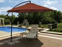 santiago 10 u0027 octagon cantilever umbrella