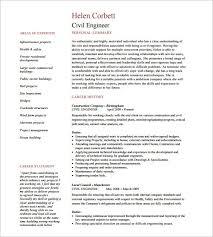 Civil Engineer Resume Template by Civil Engineering Resumes Resume Sle