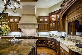 Mediterranean Kitchen Cabinets - tuscan kitchen cabinets kitchen mediterranean with backsplash