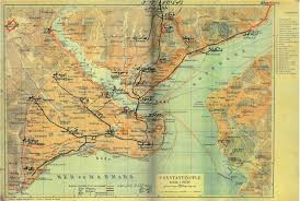 Map Of Constantinople Levantine Heritage Foundation Research Education Preservation