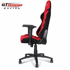 Racing Seat Desk Chair Gaming Seats Gt Omega Pro Racing Office Chair Red And Black Fabric