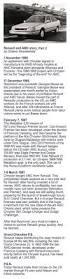 1985 renault alliance convertible renault and amc story part 1 renault encore pinterest