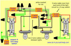 pleasing wiring diagram light switch two lights inspiring wiring