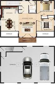 Houses Floor Plans by Garage With Upstairs Apartment Maybe Sauna In Back Of Garage