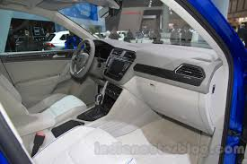 volkswagen concept interior vw tiguan gte concept interior at the 2015 tokyo motor show