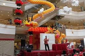New Year Balloon Decor by Xing Fu January 2011