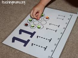 activities for numbers 11 20