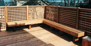 build deck bench seating deck bench seating height perimeter bench