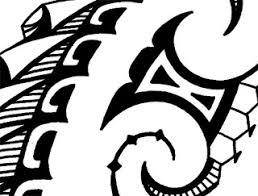 printable shoulder tattoo designs in maori kiri tuhi style que