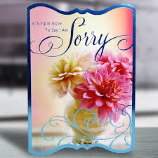 i am sorry greeting card at best prices in india archiesonline