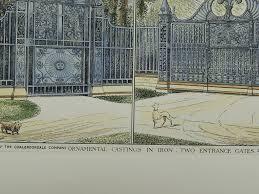 two entrance gates coalbrookdale company in coalbrookdale