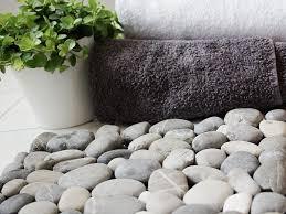 fußmatte aus steinen selber machen