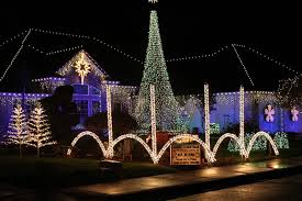 holiday lights bright on clark county homes the columbian