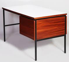 bureau guariche guariche vintage desk fourniture industrial
