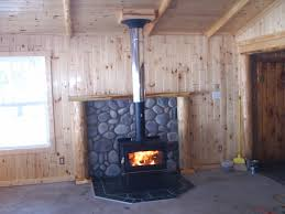 interesting woodstove mantle idea don u0027t like the silver pipe but