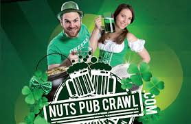 st patrick u0027s day party nuts pub crawl london designmynight