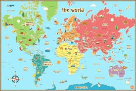 printable world map a1 printable map of north america for kids