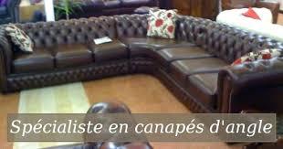 canapé cuir d occasion canape cuir d occasion canapac chesterfield maison du monde 18