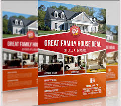free real estate flyer templates 41 psd real estate marketing flyer templates free premium