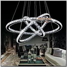 Chandeliers Led Chandeliers L Chandelier 3 Rings Led For