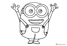 coloring pages free printable minion examples expense reports