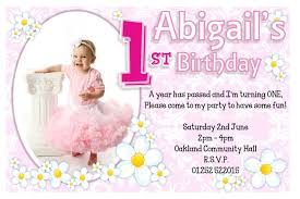 lovely personalized 1st birthday invitations 98 about invitation
