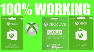 xbox live gift card how to get free xbox gift cards how to get free xbox live