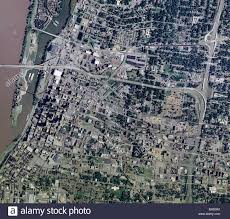 Map Of Memphis Tennessee by Aerial Map View Above Memphis Tennessee Mississippi River Stock