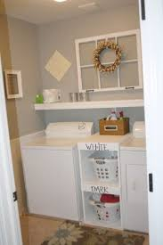 Small Laundry Room Decorating Ideas Stylish A Narrow Laundry Room With The Large Sink And The Top