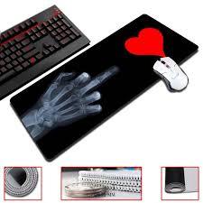 bureau 90 cm de large maiyaca squelette doigts et amour 30x60 70 80 90 cm taille de jeu