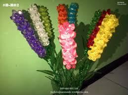 cara membuat kerajinan akrilik aneka hiasan bunga dari manik manik kristal jual kerajinan manik