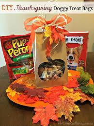 diy thanksgiving treat bags free treat giveaway treatthepups