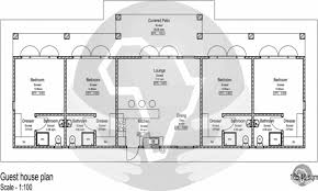 small guest house floor plans trendy inspiration 7 guesthouse plans small guest house plan