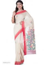 Buy Green Plain Cotton Silk Buy Saree Online Nalli Com