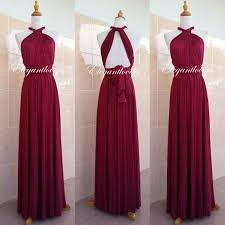 wedding dress maroon wine merlot burgundy dress maroon wedding dress bridesmaid