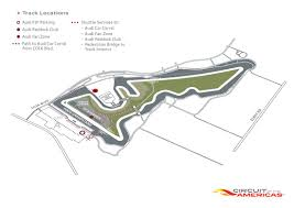 Circuit Of The Americas Track Map by Audi Sport Experience Audi At Austin