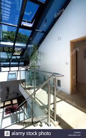 atrium sliding glass doors atrium glass staircase stock photos u0026 atrium glass staircase stock