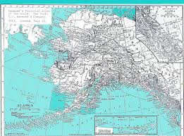 Alaska Map Images by Location Template