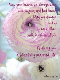 wish for marriage blessing ecard with flowers and wishes for newly married all