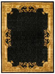 Black And Gold Rug Handmade W French And Old Patina Design Black Gold Rug 6 U0027 0