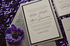 silver wedding invitations real wedding and silver glitter wedding invitation