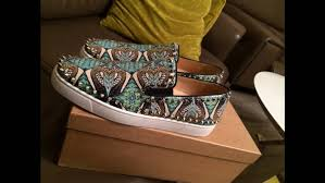 christian louboutin python size 9 5 low top sneakers for sale