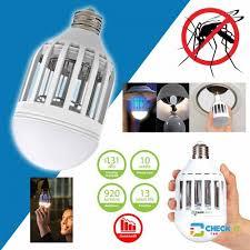 bug light light bulbs zapplight 2 n 1 led lightbulb bug light zapper zap mosquitoes
