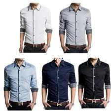 online shop men dress shirt brand designer high quality french