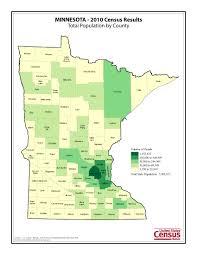 Minnesota United States Map by Census 2010 News U S Census Bureau Delivers Minnesota U0027s 2010