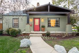 craftsman style bungalow updated craftsman style bungalow single story homes ranch house